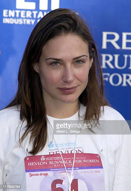 Claire Forlani during The 9th Annual Revlon Run/Walk For Women at Los Angeles Memorial Coliseum in Los Angeles California United States