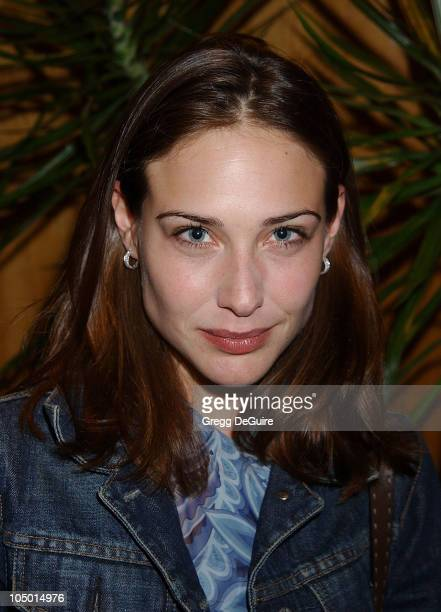Claire Forlani during The Grey Zone Premiere to Benefit The LA Museum Of The Holocaust at Writers Guild Theatre in Beverly Hills California United...