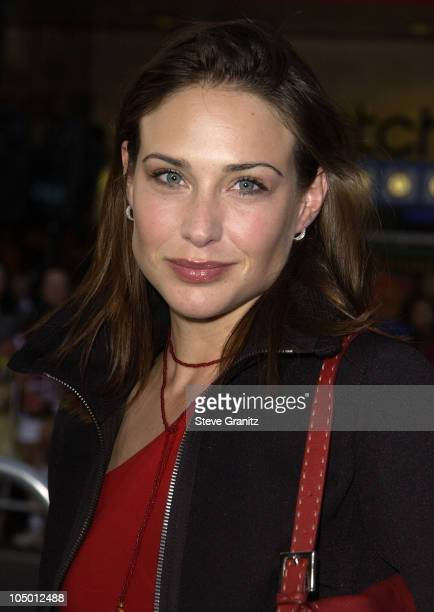 Claire Forlani during The Tuxedo Premiere Los Angeles at Mann's Chinese Theatre in Hollywood California United States
