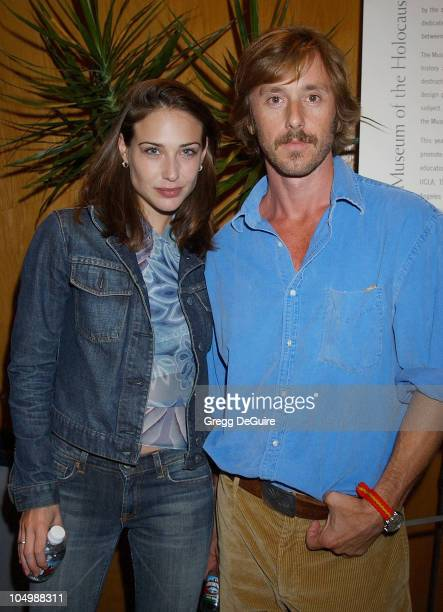 Claire Forlani Jake Weber during 'The Grey Zone' Premiere to Benefit The LA Museum Of The Holocaust at Writers Guild Theatre in Beverly Hills...