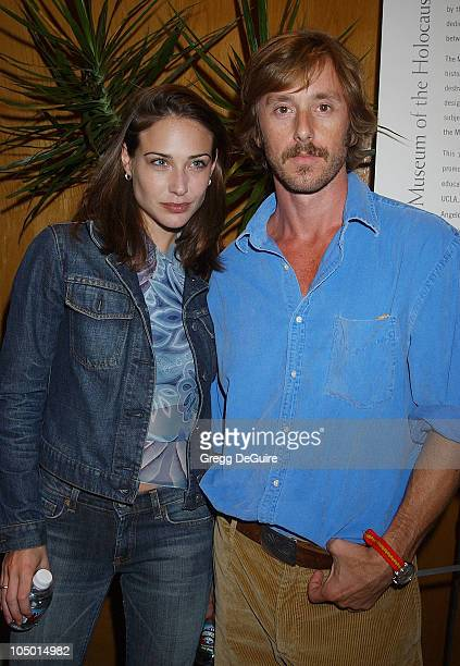 Claire Forlani Jake Weber during The Grey Zone Premiere to Benefit The LA Museum Of The Holocaust at Writers Guild Theatre in Beverly Hills...