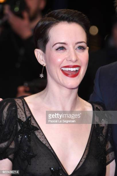 Claire Foy attend the 'Unsane' premiere during the 68th Berlinale International Film Festival Berlin at Berlinale Palast on February 21 2018 in...