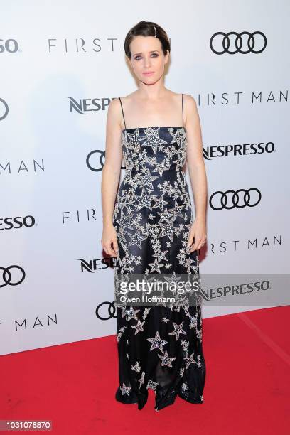 Claire Foy attends Audi Canada And Nespresso CoHosted PostScreening Event For First Man During The Toronto International Film Festival