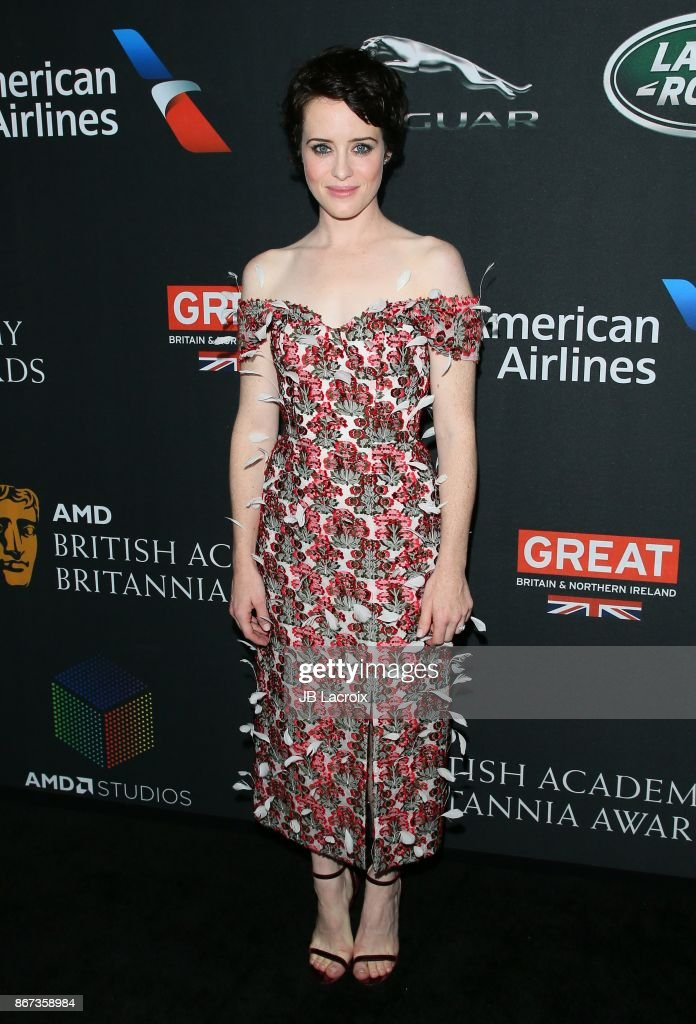 2017 AMD British Academy Britannia Awards Presented by Jaguar Land Rover And American Airlines - Arrivals