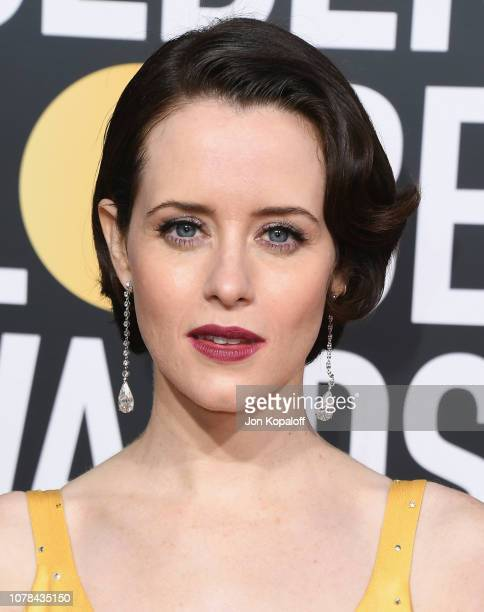 Claire Foy attends the 76th Annual Golden Globe Awards at The Beverly Hilton Hotel on January 6, 2019 in Beverly Hills, California.