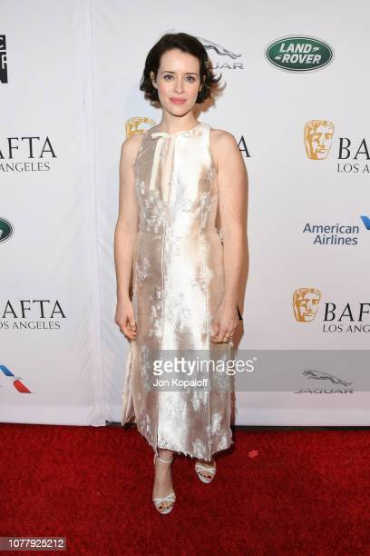 Claire Foy attends The BAFTA Los Angeles Tea Party at Four Seasons Hotel Los Angeles at Beverly Hills on January 5, 2019 in Los Angeles, California.