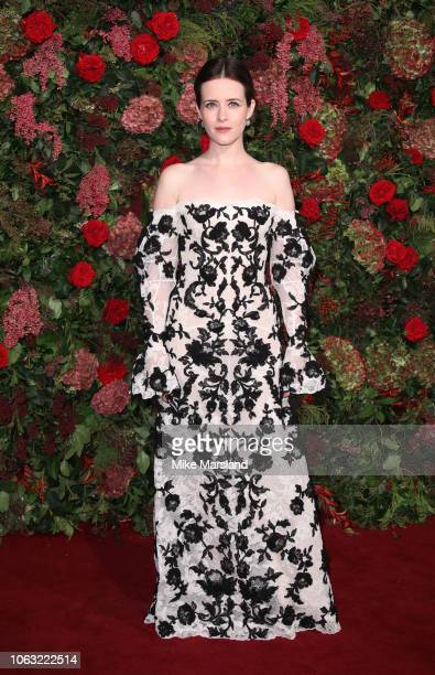 Claire Foy attends the Evening Standard Theatre Awards 2018 at Theatre Royal on November 18 2018 in London England