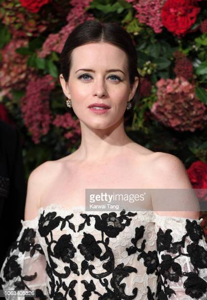 Claire Foy attends the Evening Standard Theatre Awards 2018 at Theatre Royal Drury Lane on November 18 2018 in London England