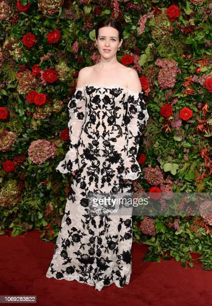 Claire Foy attends the Evening Standard Theatre Awards 2018 at the Theatre Royal on November 18 2018 in London England