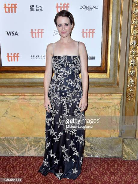 Claire Foy attends the First Man premiere during 2018 Toronto International Film Festival at The Elgin on September 10 2018 in Toronto Canada
