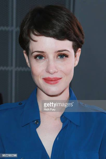Claire Foy attends the For Your Consideration event for Netflix's The Crown at Saban Media Center on April 27 2018 in North Hollywood California
