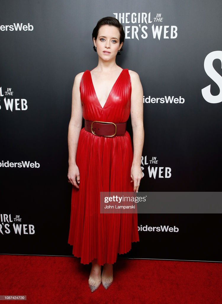 """""""The Girl In The Spider's Web"""" New York Screening : News Photo"""