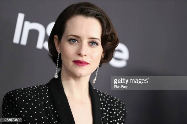 Claire Foy attends the InStyle And Warner Bros Golden Globes After Party 2019 at The Beverly Hilton Hotel on January 6 2019 in Beverly Hills...