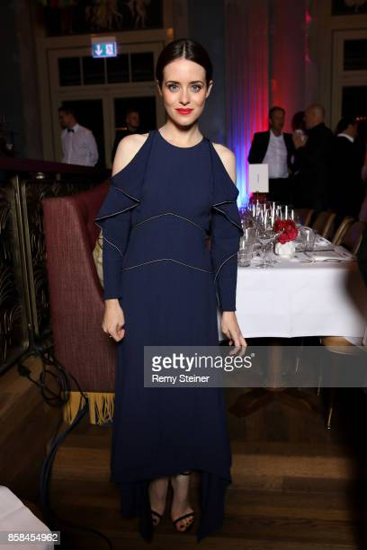 Claire Foy attends the Tommy Hilfiger VIP Dinner in celebration of the 13th Zurich Film Festival on October 6 2017 in Zurich Switzerland