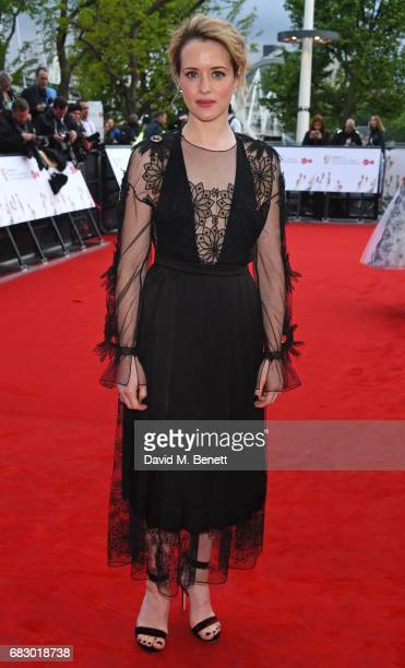 Claire Foy attends the Virgin TV BAFTA Television Awards at The Royal Festival Hall on May 14 2017 in London England
