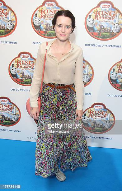 Claire Foy attends VIP Screening of Thomas & Friends: King Of The Railway at Vue Leicester Square on August 18, 2013 in London, England.