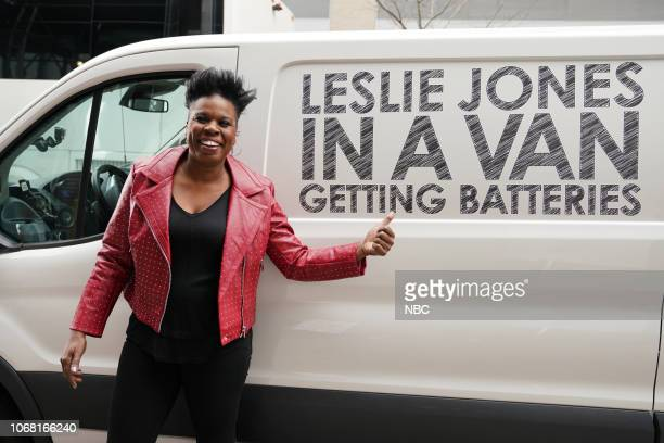 LIVE 'Claire Foy' Episode 1753 Pictured Leslie Jones during the 'Netflix Commercial' sketch on Saturday December 1 2018