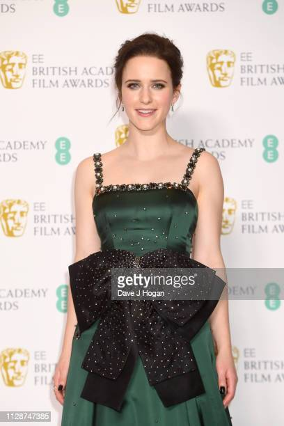 Claire Foy in the press room during the EE British Academy Film Awards at Royal Albert Hall on February 10, 2019 in London, England.