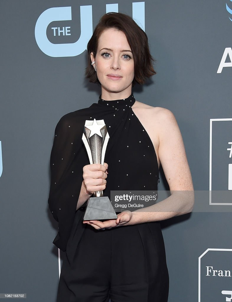 The 24th Annual Critics' Choice Awards - Press Room : News Photo
