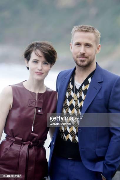 Claire FoyRyan Gosling attends 'First Man' photocall during 66th San Sebastian Film Festival on September 24 2018 in San Sebastian Spain