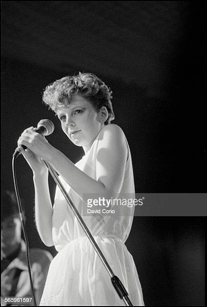 Claire Grogan of Altered Images performing at Queens's Hall Leeds United Kingdom 26 September 1981