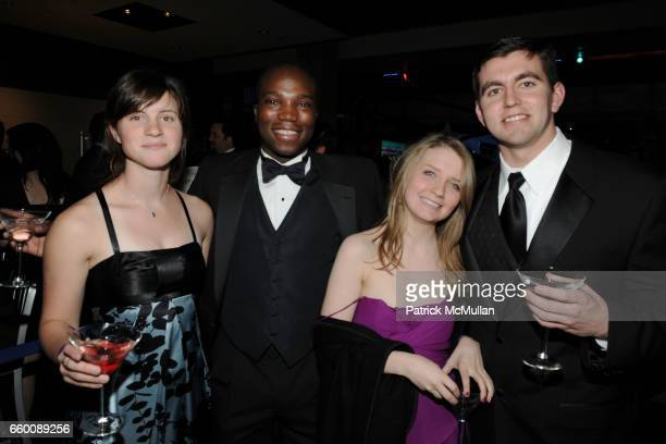 Claire Henley Bagna Braystrom Katherine Gallogly and Michael O'Brien attend THE HUFFINGTON POST PreInaugural Ball at The Newseum on January 19 2009...