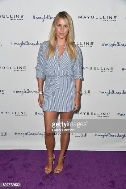 Claire Holt attends Maybelline's Los Angeles Influencer Launch Event at 1OAK on August 10 2017 in West Hollywood California