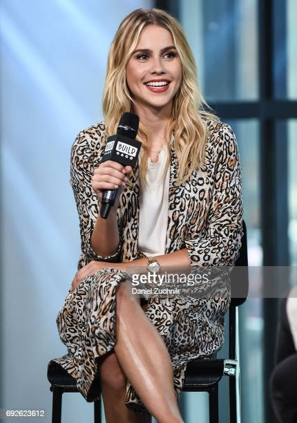 Claire Holt attends the Build Series to discuss her new movie '47 meters down' at Build Studio on June 5 2017 in New York City