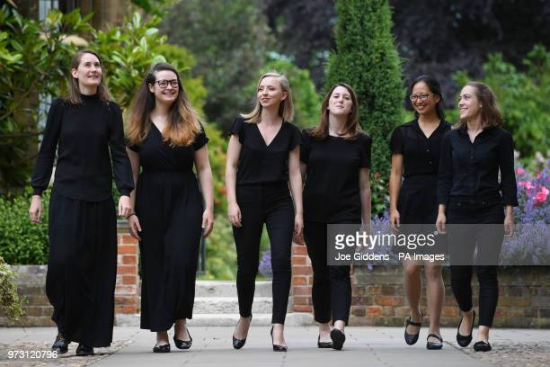 Claire InnesHopkins Ellie Carter Anna Lapwood Katy Silverman Jessica Lim and Lucy Morrell who make up part of a team of female organists who will...