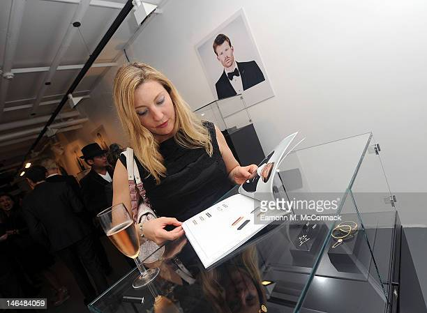 Claire Jamieson attends a party to celebrate the new 'GENTLEMAN David Thomas X JBH' collection from David Thomas and Jason Arasheben during London...