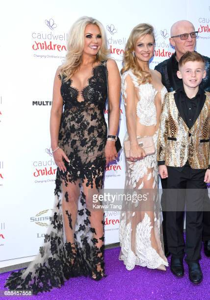 Claire Johnson and Modesta Vzesniauskait attend the Caudwell Children Butterfly Ball at Grosvenor House on May 25 2017 in London England