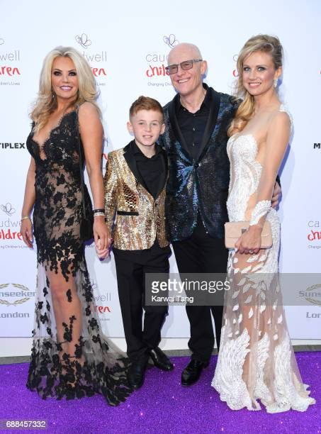 Claire Johnson Modesta Vzesniauskait and John Caudwell attend the Caudwell Children Butterfly Ball at Grosvenor House on May 25 2017 in London England