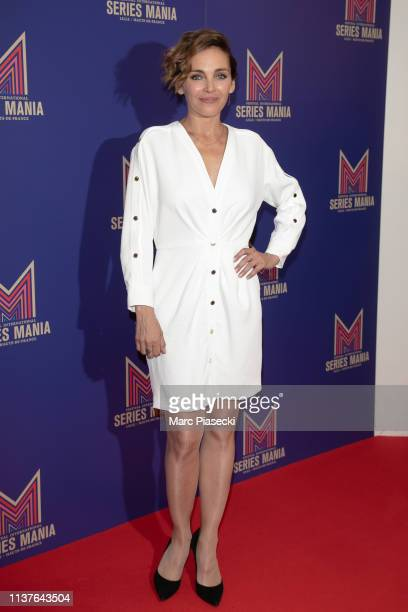 Claire Keim attends the 2nd Series Mania Festival opening ceremony on March 22 2019 in Lille France