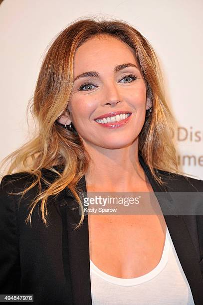 Claire Keim attends the 'Au Royaume Des Singes' Premeire at Cinema Gaumont Marignan on October 29 2015 in Paris France