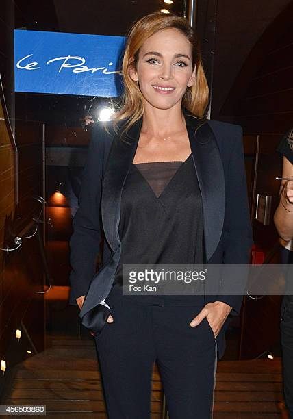 Claire Keim attends the 'For Ever Gentlemen 2' CD Launch at Le Paris boat on October 1, 2014 in Paris, France.