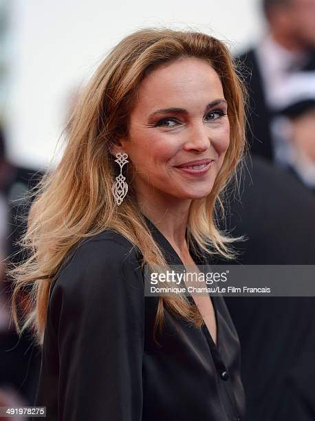 Claire Keim attends The Homesman Premiere at the 67th Annual Cannes Film Festival on May 18 2014 in Cannes France