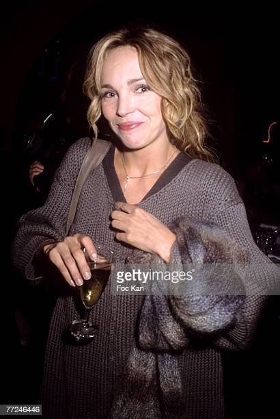 Claire Keim attends the Moet Imperial Folies Party at the Castel Club on September 27 2007 in Paris France