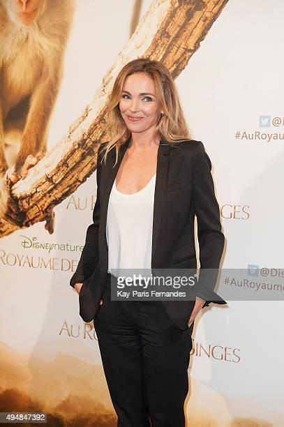 Claire Keim attends the 'Monkey Kingdom' Paris premiere at Cinema Gaumont Marignan on October 29, 2015 in Paris, France.