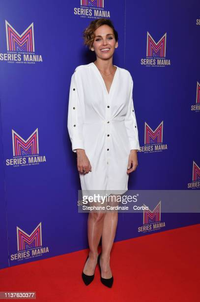 Claire Keim attends the Opening Ceremony of the 2nd Series Mania Festival In Lille on March 22, 2019 in Lille, France.