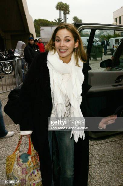 Claire Keim during 2004 NRJ Music Awards Rehearsal Arrivals at Palais des Festivals in Cannes France