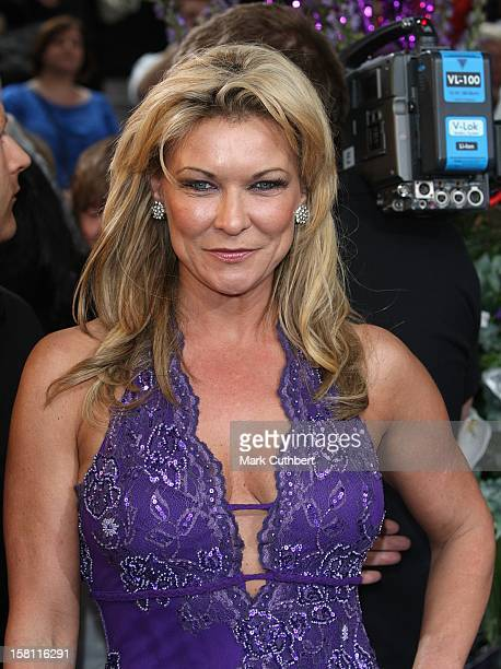 Claire King Arrives For The British Soap Awards 2008 At Bbc Television Centre Wood Lane London W12