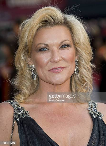 Claire King Arrives For The European Film Premiere Of Leatherheads At The Odeon Leicester Square In Central London