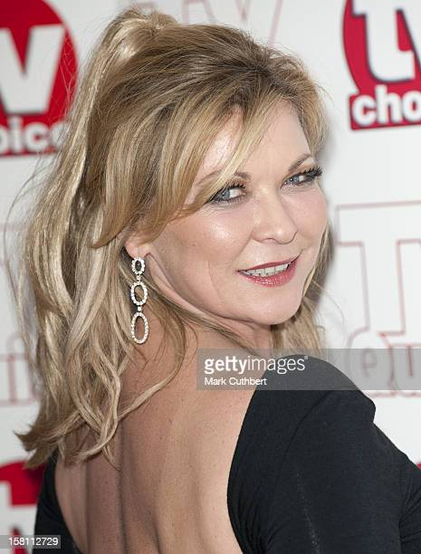 Claire King Arriving For The 2009 Tv Quick And Tv Choice Awards At The Dorchester Hotel Park Lane London