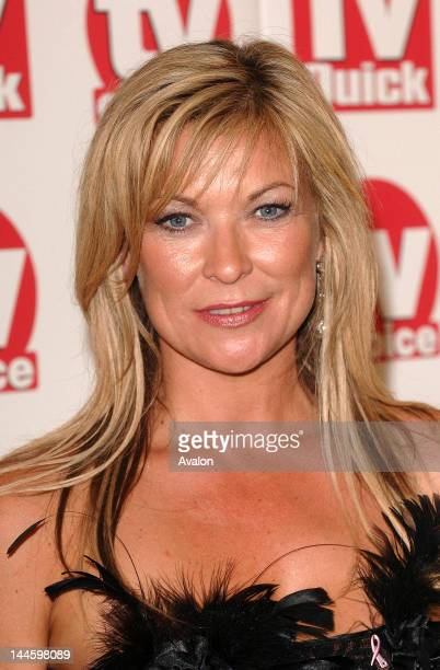 Claire King attending TV Quick and TV Choice Awards Dorchester Hotel London 4th September 2006 Job 14979