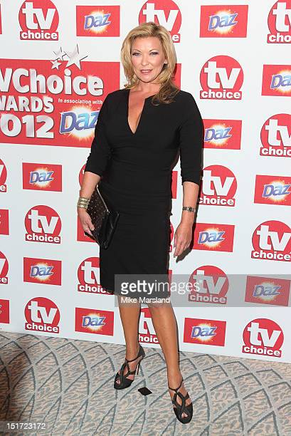 Claire King attends the TV Choice awards 2012 at The Dorchester on September 10 2012 in London England
