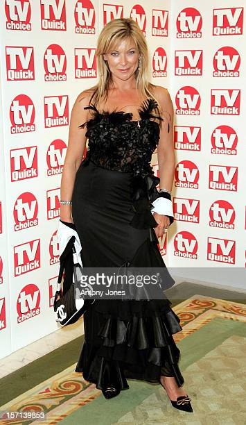 Claire King Attends The Tv Quick Tv Choice Awards At The Dorchester In London