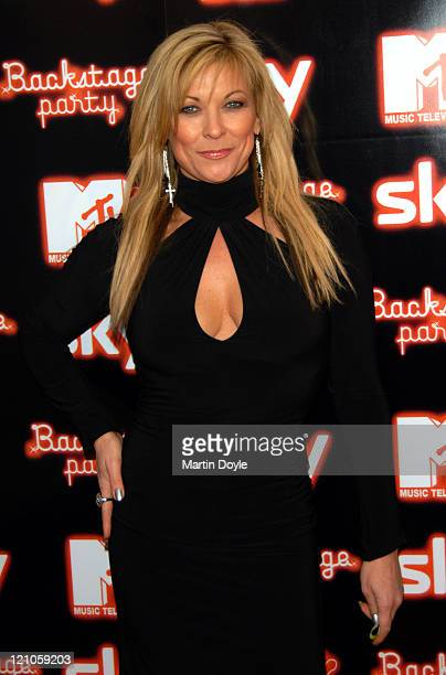 Claire King during 2006 MTV European Music Awards Copenhagen Backstage Party Arrivals at Sound in London Great Britain