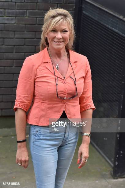 Claire King seen at the ITV Studios on July 18 2017 in London England