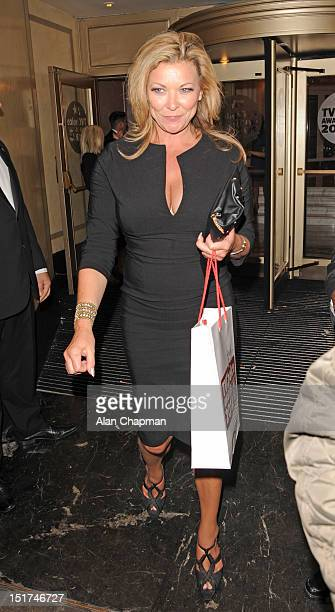 Claire King sighting at TV Choice Awards on September 10 2012 in London England