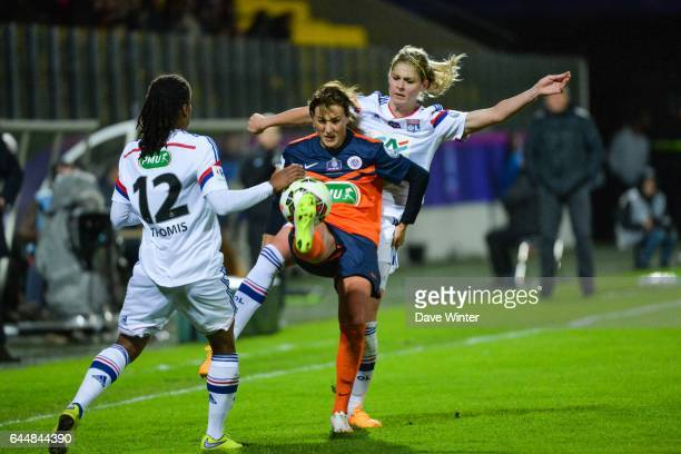Claire LAVOGEZ / Corine PETIT Montpellier / Lyon Finale Coupe de France Calais Photo Dave Winter / Icon Sport
